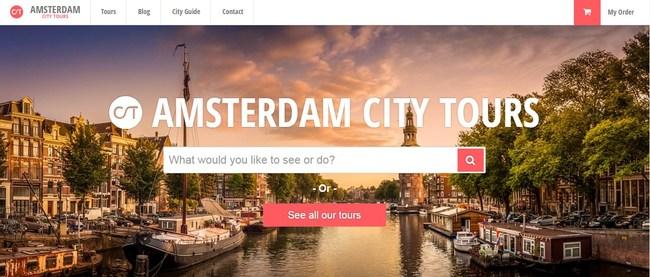 AmsterdamCityTours.com screenshot