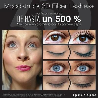 Younique Moodstruck 3D Fiber Lashes+ (PRNewsFoto/Younique)