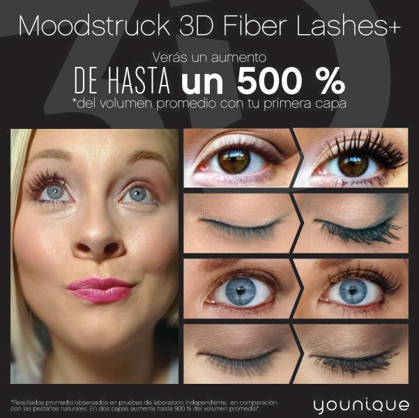 Younique Moodstruck 3D Fiber Lashes+ (PRNewsFoto/Younique)