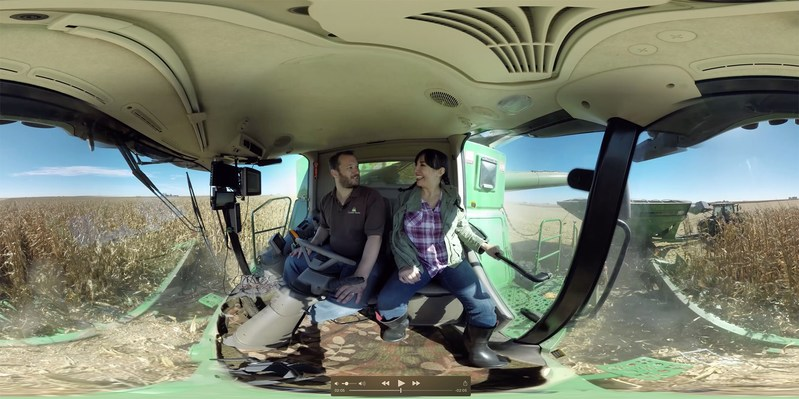 Illinois farmer Justin Durdan shares a 360-degree look at corn planting, growing and harvesting on his family's farm. Visit watchusgrow.org to watch the four-part video series.