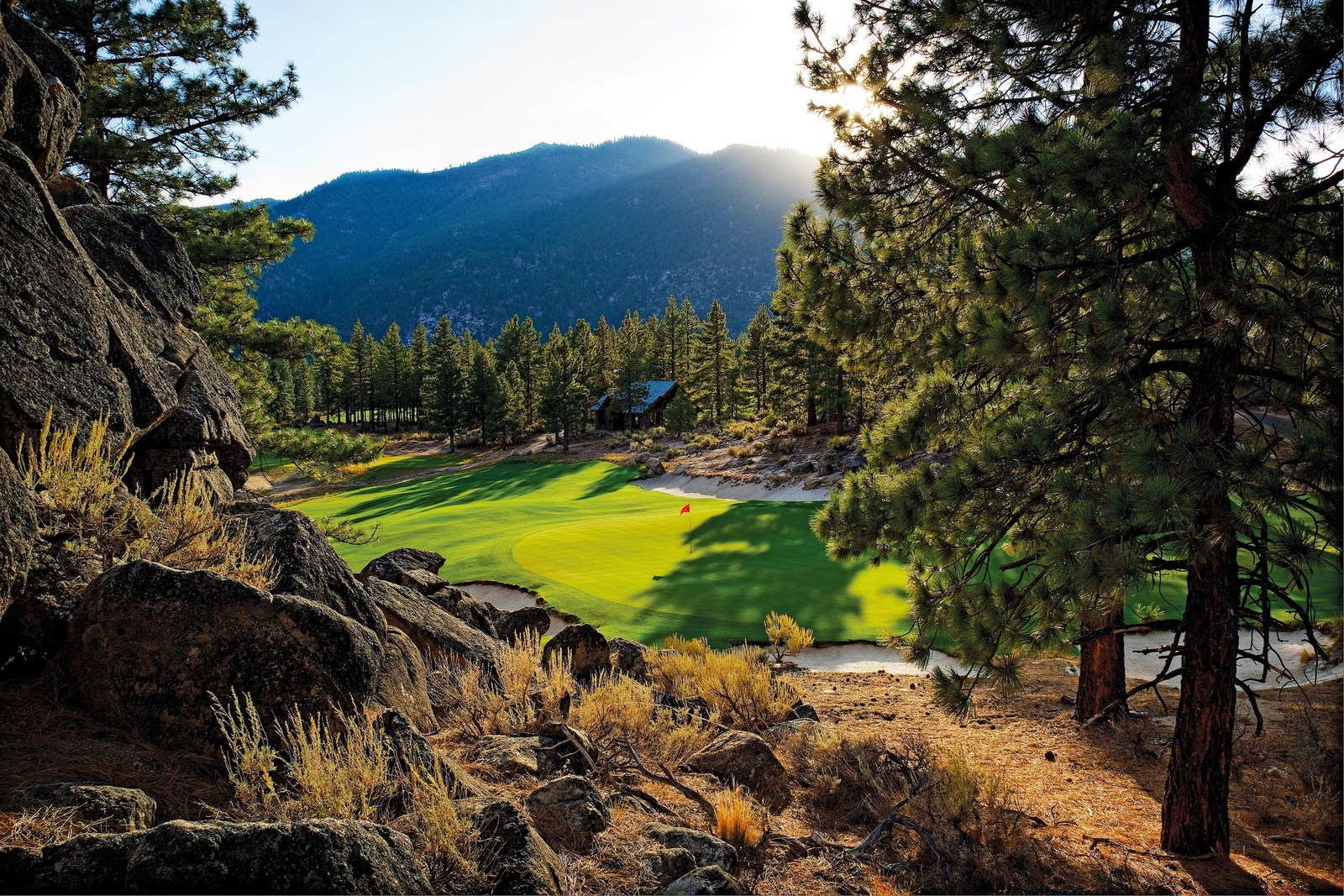 Clear Creek Tahoe's Coore & Crenshaw golf course.