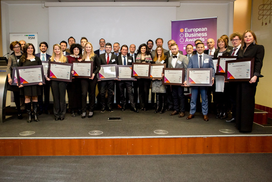Italian National Champions (PRNewsFoto/European Business Awards and RSM)
