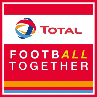 Total Football Together Logo (PRNewsFoto/Total)