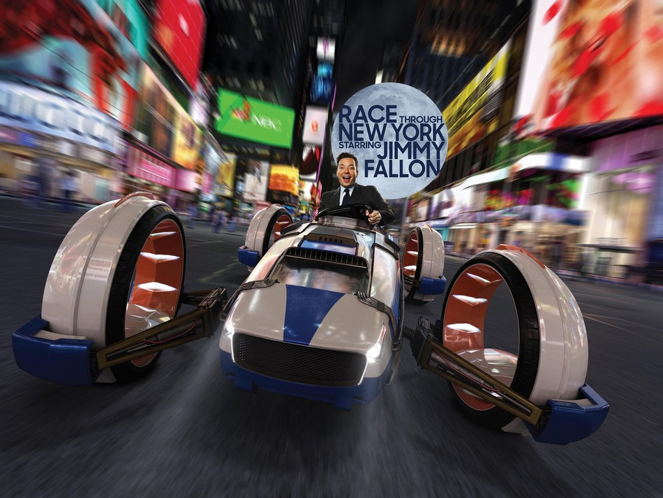 Race Through New York Starring Jimmy Fallon will officially grand open at Universal Orlando Resort on April 6