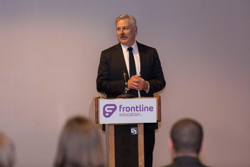 Frontline CEO Tim Clifford