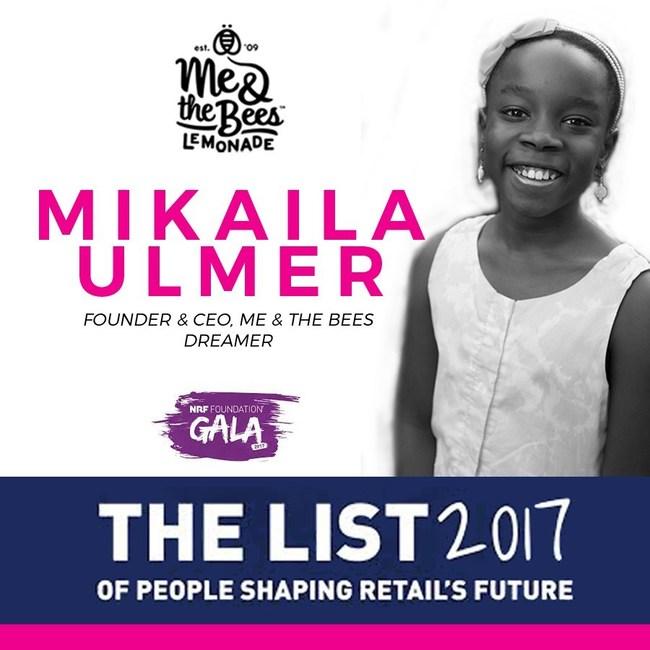 Mikaila Ulmer NRF 2017 honoree . Shaping Retail's Future