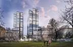 Buildings designed by Warsaw Hermanowicz Rewski Architects (PRNewsFoto/HB Reavis)
