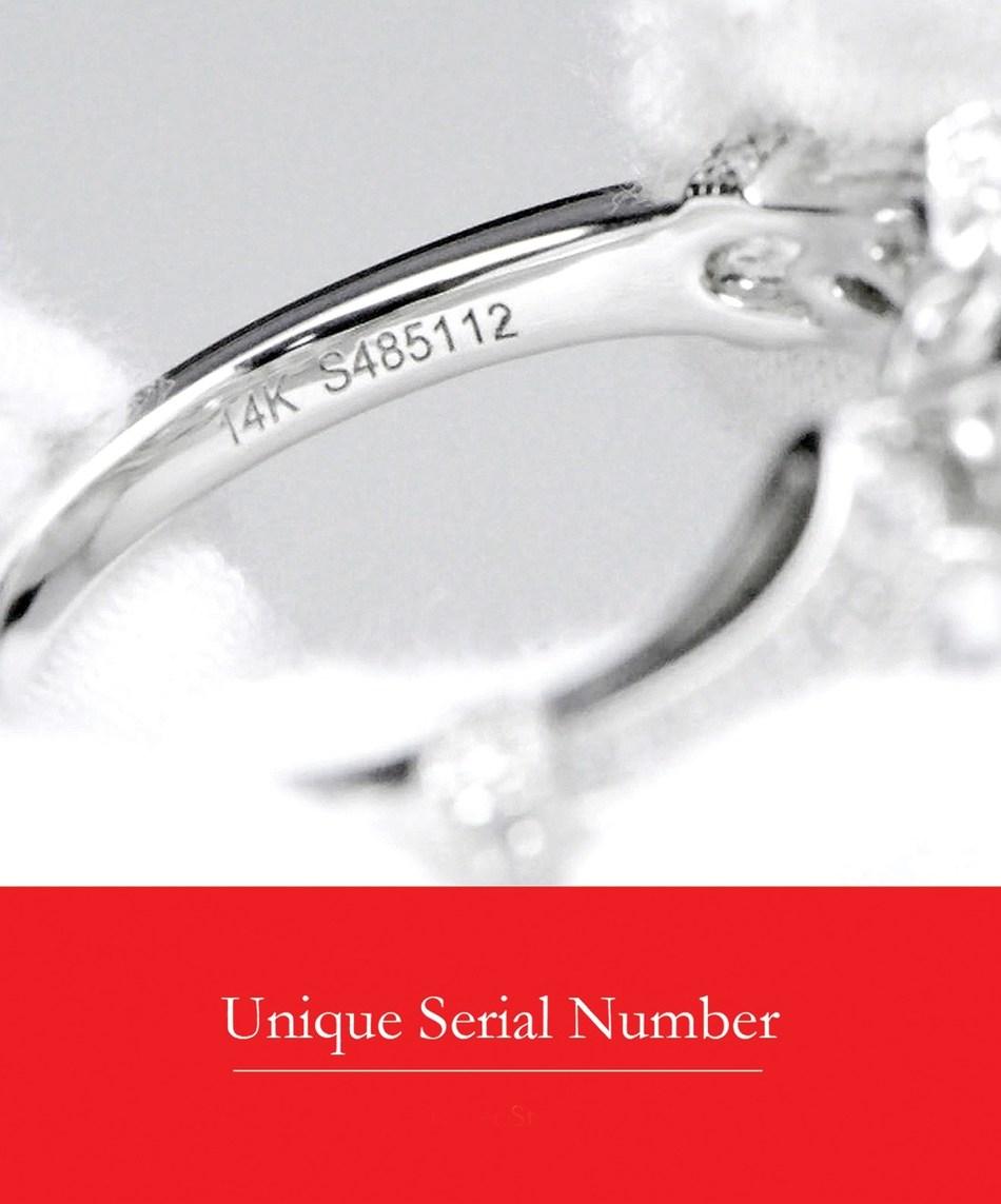 Gabriel & Co.'s unique serial number system.