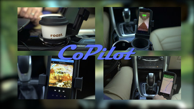 "The ""CoPilot"" - Launched on Kickstarter - Offers Wireless Charging and Aims To Reduce Distracted Driving"