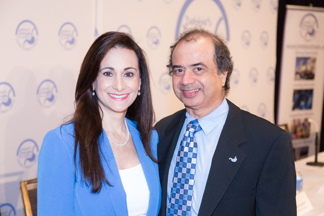 DDF President and Founder Debbie Zelman with Jaffer A. Ajani, MD, Professor of Medicine at The University of Texas MD Anderson Cancer Center and Past Chair of the DDF Medical Advisory Board and representative of the American Society of Clinical Oncology