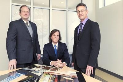 BKA Architects Leadership Left to Right: Kevin Paton, AIA, Principal; David Seibert, AIA, President; Keith Bettencourt, AIA, Principal.