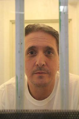 Richard Glossip behind bars.