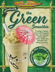 Maui Wowi Introduces its First 'Green' Smoothie to the Menu for a Limited Time Only.