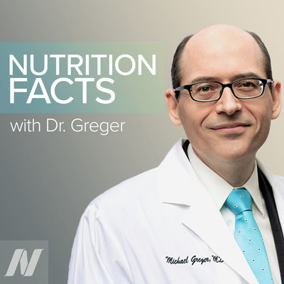 NutritionFacts.Org Launches Free Weekly Podcasts to Share Evidence-Based Nutritional Research & Healthy Eating Advice