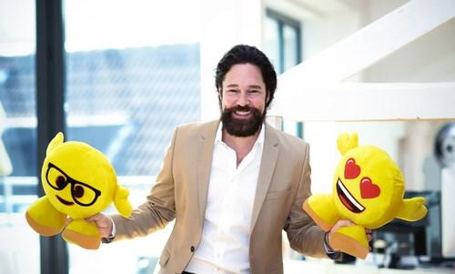 Marco Huesges, President of emoji company GmbH (PRNewsFoto/emoji Company GmbH)