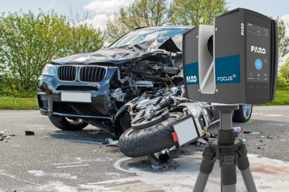 Combining professional grade scanning technology with extreme portability and ease-of-use, the FARO Focus M 70 Laser Scanner offers reliability, flexibility and real-time views of crime and crash scenes for public safety professionals.