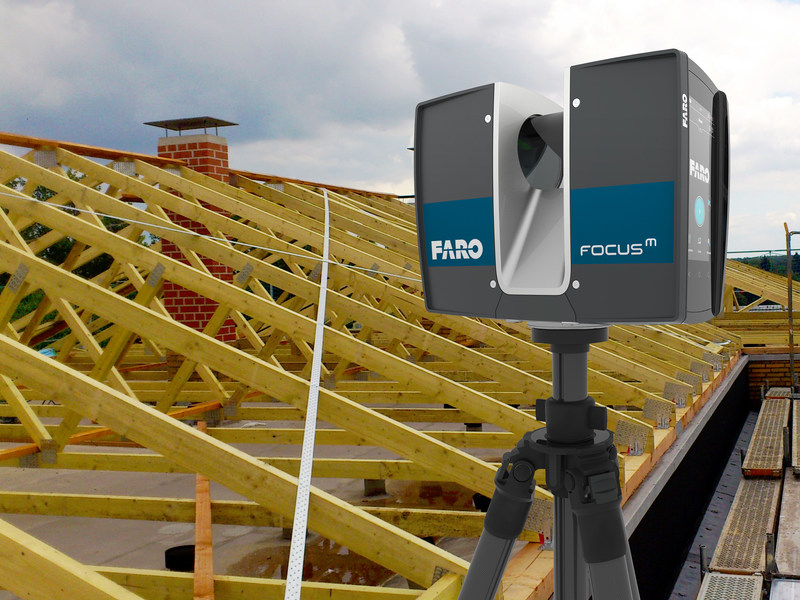 The FARO Focus M 70 Laser Scanner is a powerful 3D laser scanning solution specifically designed for both indoor and outdoor applications that require scanning up to 70 meters.