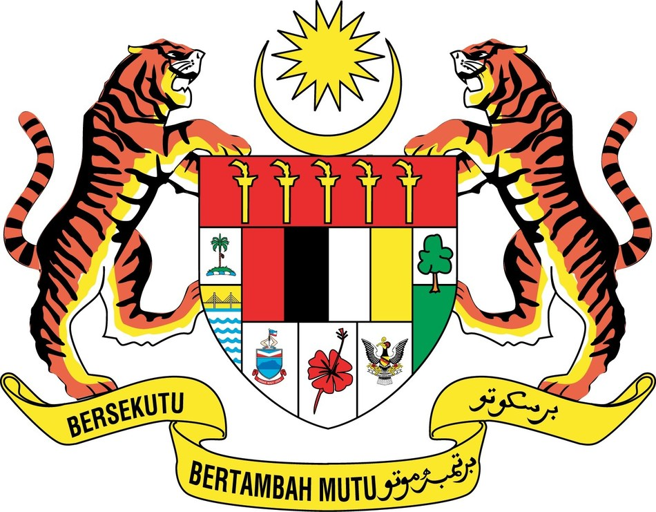 Coat of arms of Malaysia (PRNewsFoto/Nation Branding Division, Prime)
