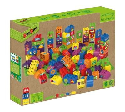 Enviroment-friendly toy set made of 100% biobased (PRNewsFoto/BanBao)