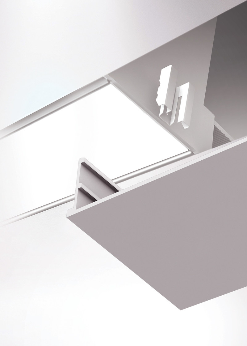 Amerlux reveals field-customizable Standard Plus Campaign for Made to Measure look with Gruv(R) linear recessed lighting