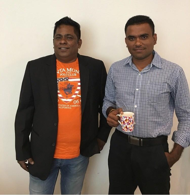 Sun Telematics Co-Founders Antony Sheen (CEO) and Sasi Armugham (CTO) (PRNewsFoto/Sun Telematics Private Limited)