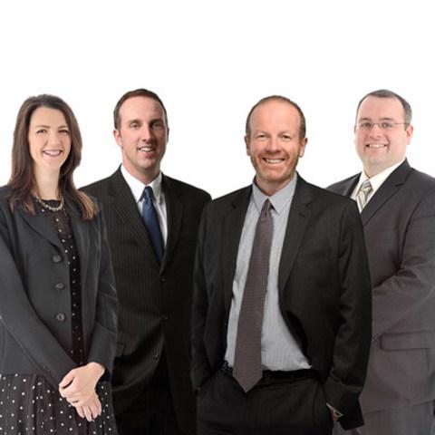 L to R: Alida du Plooy, David Cameron, Mike Marshall, Douglas Cashin; Collins Barrow Nova Scotia Inc. (CNW Group/Collins Barrow National Cooperative Incorporated)