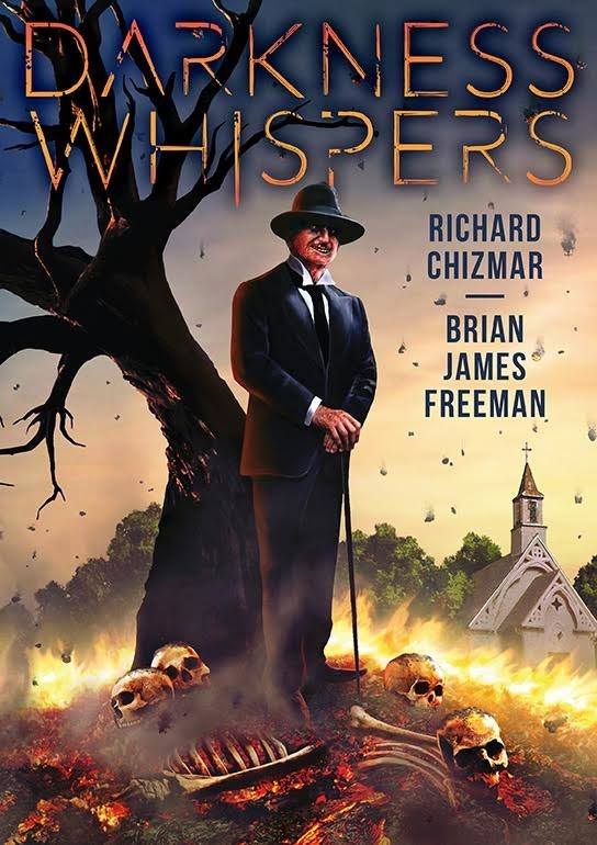 The Cover Art for Darkness Whispers by Richard Chizmar and Brian James Freeman