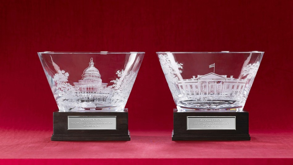 One-of-a-Kind Crystal Bowls from Lenox to be the Official Inaugural Gifts from the American People