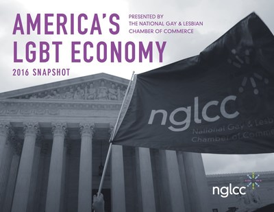 """""""America's LGBT Economy"""" Report by National Gay & Lesbian Chamber of Commerce reveals LGBT Business Enterprises contribute billions to the US economy and create tens of thousands of jobs.  More at www.nglcc.org"""