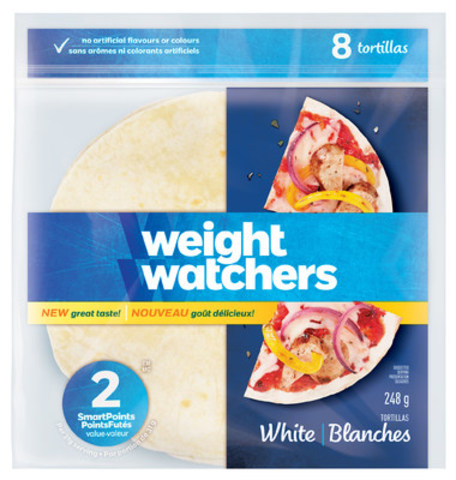 Weight Watchers New White Tortillas (CNW Group/Longo's)