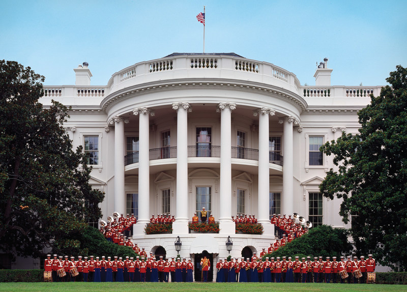 """""""The President's Own"""" U.S. Marine Band will participate in the 58th Presidential Inauguration on Jan. 20, 2017. This marks the Marine Band's 55th inaugural appearance, a tradition that dates back to Thomas Jefferson in 1801. Founded in 1798, the band has performed for every U.S. President since John Adams. Known as """"The President's Own"""" since the days of Thomas Jefferson, the band's mission is to provide music for the President of the United States and the Commandant of the Marine Corps."""