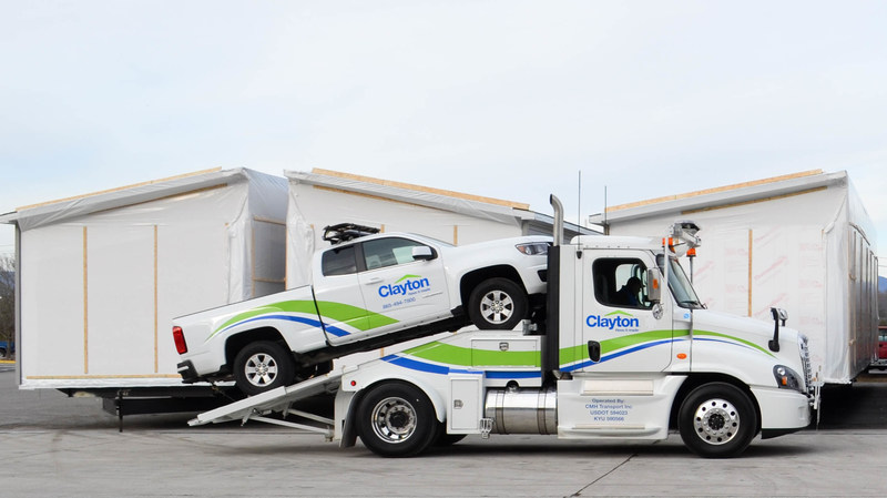 Clayton Home Transport was unveiled on Dec. 8.