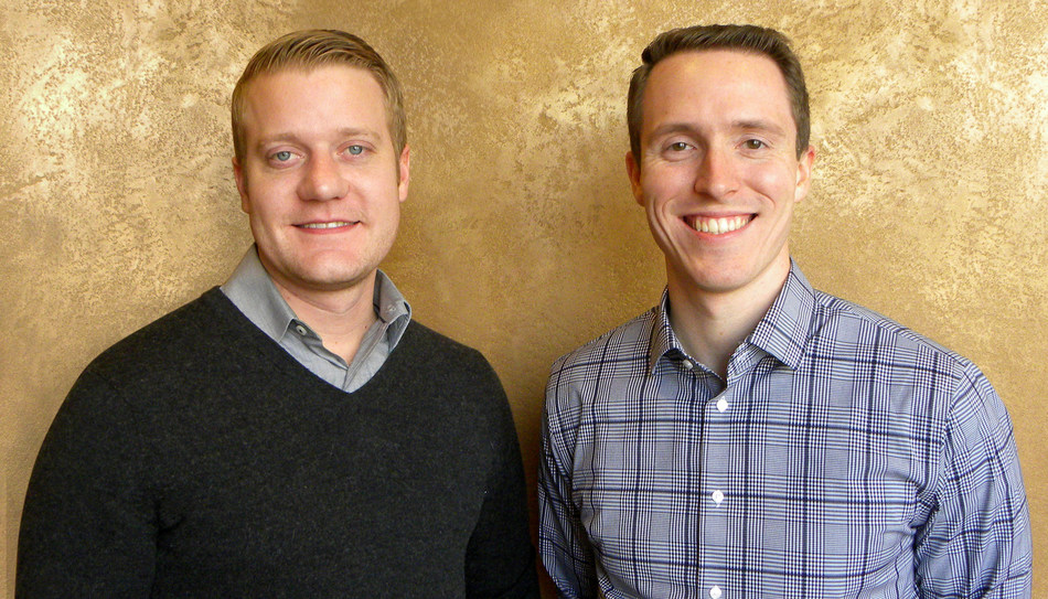 Gregg Aukeman, Package Qualification Manager and Ryan Fichuk, Packaging Quality Engineer at TricorBraun Design & Engineering.