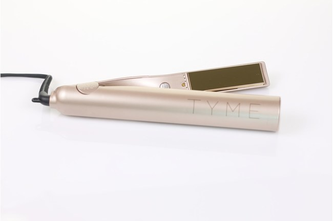 Launched in 2014, the TYME Iron is a professional-quality tool that is used to curl, wave and straighten hair.