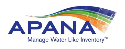 APANA(TM) logo, technology providing comprehensive water management for CII space