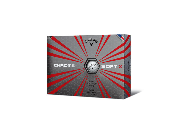 CALLAWAY INTRODUCES CHROME SOFT X