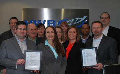 Leaders from VWR's Solon and Aurora locations celebrate EXCiPACT certification.