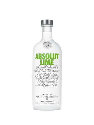 New Absolut Lime features its own distinct flavor profile with a balance of full-bodied citrus flavor with a light finish.