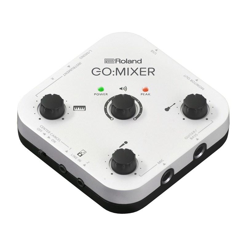 Roland Introduces GO:MIXER Compact Audio Mixer for Smartphones