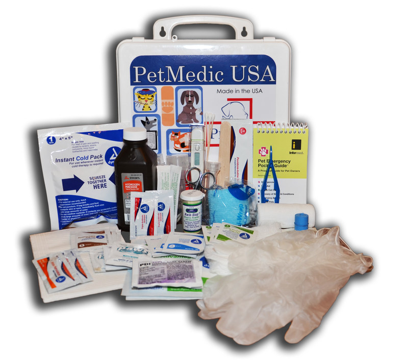 This is our smaller Small Companion Animal First Aid Kit