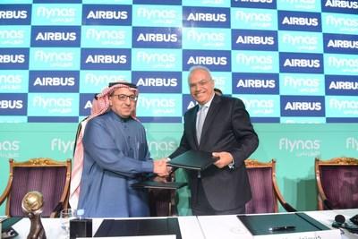 Flynas Orders 120 A320neo Aircraft (PRNewsFoto/flynas)