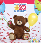 Build-A-Bear Workshop Begins 20th Year With Gratitude, New 20th Birthday Celebration Bear And 'Parties On The 20th'