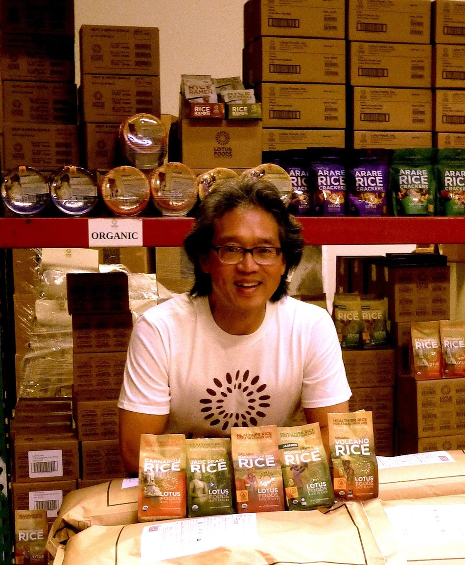 Under Ken Lee's leadership, Lotus Foods has established supply chains in four countries, with some of the most marginalized but innovative rice farmers practicing climate-smart growing techniques, while preserving the rich heritage of rice biodiversity. Ken's commitment lets us embrace both the benefits and the responsibilities of being global citizens.