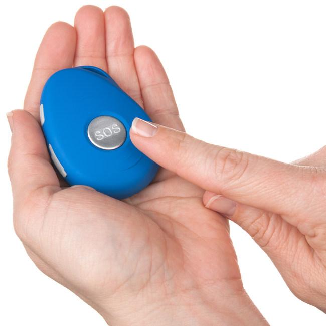 SafeGuardian CareCaller Mobile Help Alert Medical Alarm With GPS Locator