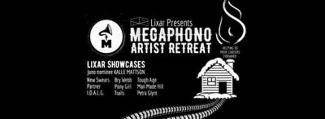 Lixar Presents MEGAPHONO and launches the Artist Retreat (CNW Group/Lixar IT)