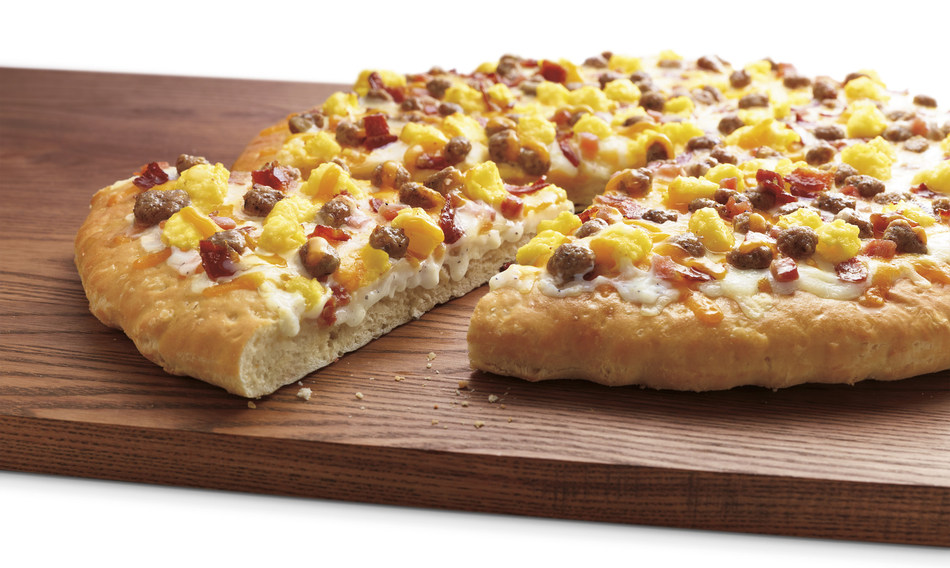 Good gravy! Participating 7-Eleven(R) stores now have hot, ready-to-eat breakfast pizza!