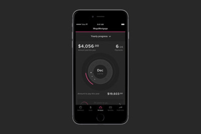 Mogo Finance Technology launches MogoMortgage, an interactive, digital mortgage that gamifies the experience for Canadians. The new product strengthens Mogo's position as Canada's leading digital banking platform. (CNW Group/Mogo Finance Technology Inc)