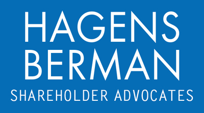 Hagens Berman Sobol Shapiro LLP (PRNewsFoto/Hagens Berman Sobol Shapiro LLP)