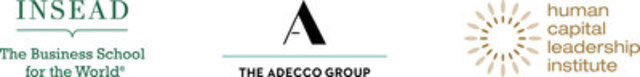 The Adecco Group/Insead/HCLI Logos (CNW Group/The Adecco Group Canada)