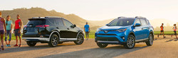 The 2017 Toyota RAV4 has been highlighted with a model research page on the Heritage Toyota website, which informs potential buyers on what the RAV4 is capable of.